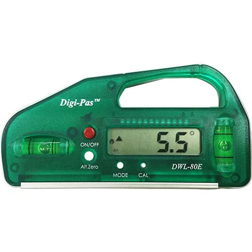 2-Axis Precision Digital Level DWL80E Green Digi-Pas Leveling & Angular Measurement